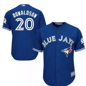 Josh Donaldson Toronto Blue Jays Blue Jersey